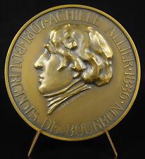 Medalla Achille Historiador se combinan flor días lirios real burgués Borbón
