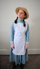 Colonial girl pinafore Apron only costume early Australian FREE SHIPPING