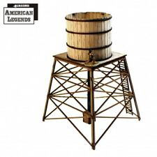 4Ground - 28mm American Legends Dead Man's Hand Water Tower - Old West War Games
