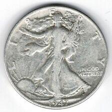 "A 1947 D Walking Liberty Half Dollar 90% SILVER US Mint ""Average Circulation"""