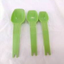 Tupperware Measure Spoons Green 1 Tsp 1 1/2 Tsp 1 Tlb Replacement Damaged
