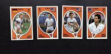1987 Panini CARD Set Sticker Becker connors McEnroe Agassi Tennis Supersport New