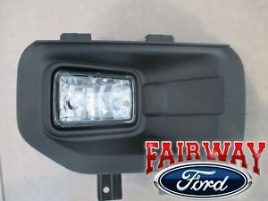 15 thru 17 F-150 OEM Genuine Ford Fog Lamp Light w/ Bezel RH Passenger HALOGEN