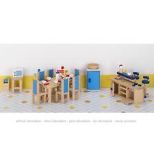 Puppenmöbel Küche, goki 51907, mit Dekoration, 30 Teile, inkl. Versand
