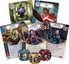 Star Wars Destiny Across the Galaxy - Rare Set 41/43 Cards & Dice