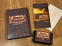 SORCER KINGDOM (Sorcerer's) Boxed/Complete AUTHENTIC JAPAN Ver Sega Mega Drive