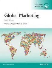 Global Marketing 9th Global Edition By Keegan, Green 9781292150765