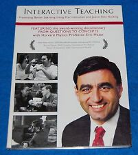 Interactive Teaching With Eric Mazur Dvd, Tested