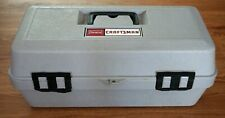 Vintage Sears Craftsman Permanex Tool Box With Lift Out Tray 9 65087 Excellent