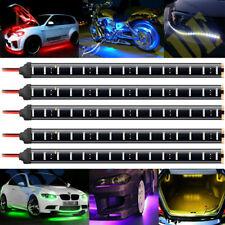 5x 12V 30cm 1FT 15SMD Flexible LED Strip Light Waterproof For Car Truck Boat