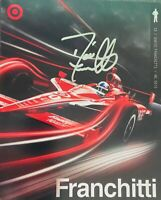 2010 Dario Franchitti #10 Signed Target Ganassi Racing Promo Card