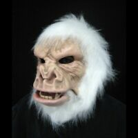 Abominable Snowman Gorilla Great Ape Costume Adult Halloween Mask Moving Mouth