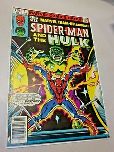 King-Size Marvel Team-Up Annual #2! Spider-Man and The Hulk -- October 1979 NM+