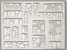 4BOT-Industries Catacomb Walls Terrain Mold W32 Dwarven Forge Hirst Arts D&D