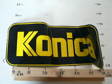 STICKER,DECAL KONICA LOGO PHOTO CAMERA LARGE STICKER FOTO KAMERA  BIG SIZE
