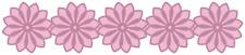 QUICKUTZ  FLOWER BORDER DIE CC-BDR-028