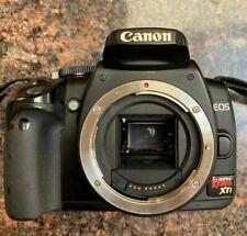 Canon EOS Rebel XTi 400D 10.1mp Digital SLR DSLR Camera Body Only