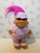 "Lavender Girl - 5"" Russ Troll Doll - New In Original Wrapper - Rare"