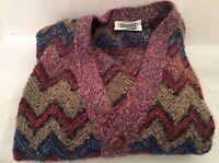 Missoni UOMO Couture Men's Cardigan Sweater $1250 wool/mohair/alpaca/nylon