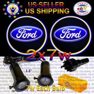 2x7w Ghost Shadow Laser Projector Logo Cree LED Light Courtesy Door Step FORD