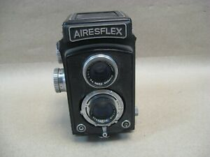 Vtg Airesflex Camera Japan Olympus Zuiko 75MM F3.5 Lens Untested w/ Guarantee