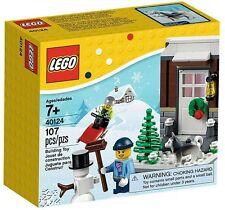 LEGO-Set 40124 Winterspaß, neu & OVP, Christmas, Winter Fun, Weihnachten