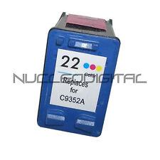 HP 22 HP22 XL Color C9352 Para Usar En Deskjet 3940 D1360 D1460 Remanufacturado