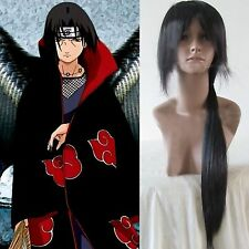 Uchiha Itachi Long Straight Black Cosplay Party Wig wigs