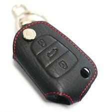 Smart Key Leather Holder Folding Key Case For HYUNDAI 2011-2016 Elantra / MD