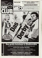 BL 91/92 1. FC Nürnberg - FC Bayern München (DER CLUB)