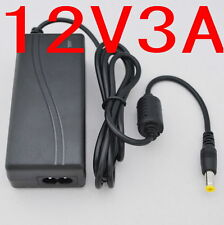 AC 100-240V Converter Adapter DC 12V 3A 36W Power Supply for 5050/3528 LED CCTV