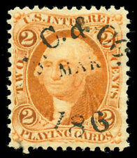 momen: Us Stamps #R12c Revenue Used Vf