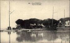 Ismailia Jsmailia Ägypten Egypt AK ca. 1910 View Panorama Schiffe Ships Dampfer