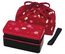 SKATER KLS5 Red Japanese Traditional Rabbit Blossom Bento Box Set New Japan