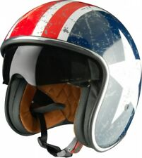 Casco origine Jet Sprint Rebel Star con Visiera a scomparsa fume Custom Harley