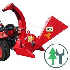 Häcksler H15 Holzhäcksler Buschhacker mit Zapfwellenantrieb Traktor Schredder