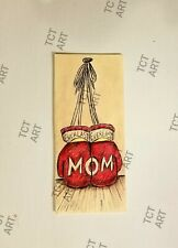 MOM Fighting for You Greeting Cards Holiday or Special Occasion