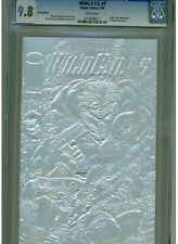 WILDCATS #7 CGC 9.8 MINT WHITE PAGES JIM LEE SILVER EDITION 1994 EMBROSSED FOIL