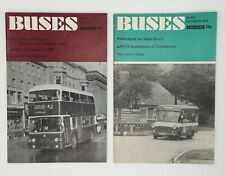 More details for buses illustrated magazine ian allan no 208 july 1972 & no 212 november 1972