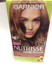 Garnier Nutrisse Ultra Color Nourishing Color Hair color, #HL2 WARM CARAMEL NEW