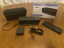 Bose SoundLink Mini II Bluetooth Portable Speaker System - Black With Charger