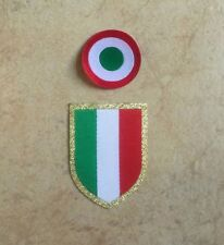 Patch toppa calcio scudetto coccarda coppa italia juventus