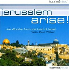 PAUL WILBUR - JERUSALEM ARISE!: LIVE WORSHIP FROM THE LAND OF ISRAEL NEW CD