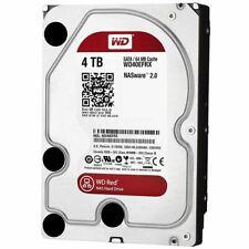 4TB WD WD40EFRX 4TB Red SATA grade a maximum 30 days use