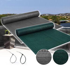 72% Windbreak Netting Shade Crop Protection Garden Privacy Screening Fence Net
