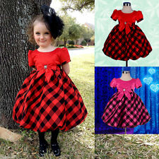 Polyester Checked Clothing (0-24 Months) for Girls