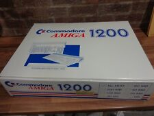 COMMADORE AMIGA A1200 COMPUTER BOXED (TESTED AND WORKING)