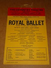 Royal Ballet 1959 Coventry Theatre Poster (Window Card)