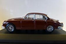 1/43 Minichamps 1959 Jaguar MK II Sedan in Dark Red. Mint, rare and boxed