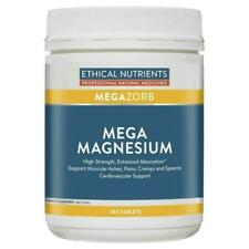 Ethical Nutrients Megazorb Mega Magnesium Tablets - 240 Count